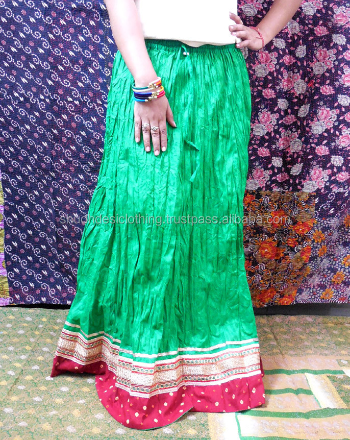 Plus Size Long Skirt Indian Party Dress Skirt For Women - Buy Lace ...