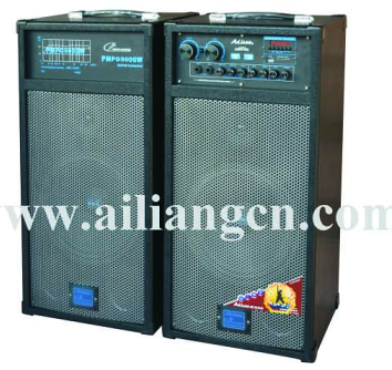 High power pro loudspeaker AILIANG-USBFM-10/2.0