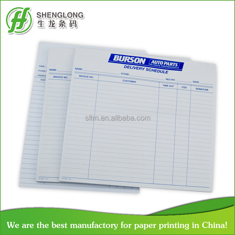 Sales Order Form With Ncr Paper - Buy Sample Order Form,Bill Of