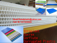 PP plastic corrugated honeycomb cardboard sheet