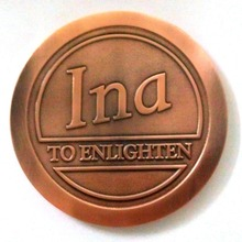Custom Cheap Engraved antique copper Challenge Coins