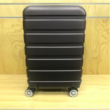 Modern style professional navy club trolley luggage travel suitcase