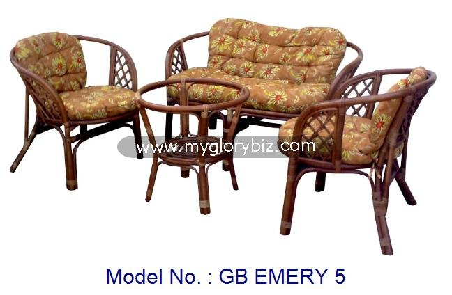Rattan Furniture Set, Rattan Set, Modern Rattan, Indoor Furniture, Rattan Living Sofa For Home Furniture