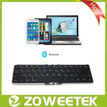 Foldable Bluetooth 3.0 Wireless Keyboard/Compact Foldable Keyboard/Folding Bluetooth Keyboard for Laptop, Computer