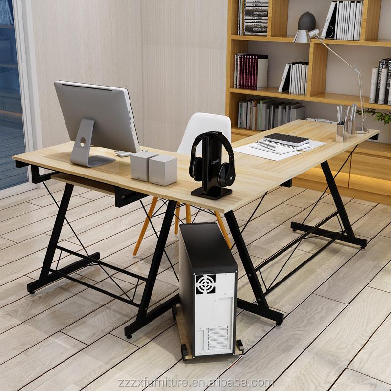 Wooden Folding Furniture Return Reception Computer Kit Home Office