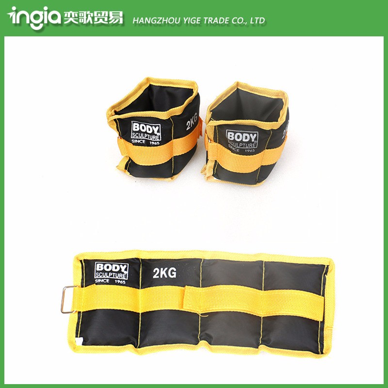 Ankle wrist weight sandbag support
