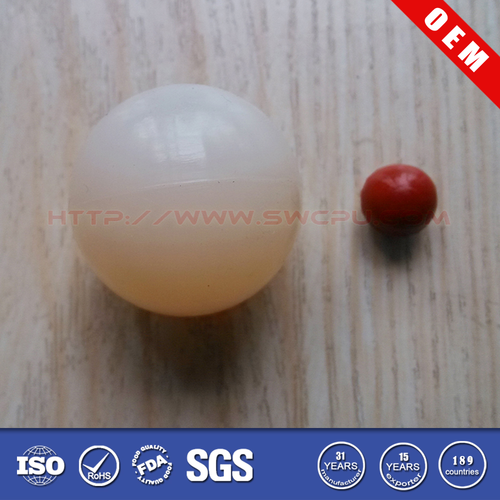 Colored food grade solid silicone balls for toys