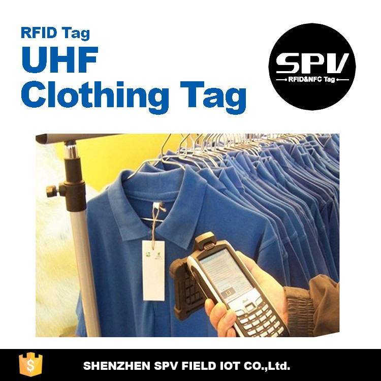 Newest! Rfid Uhf For Clothing Tag /stock Management