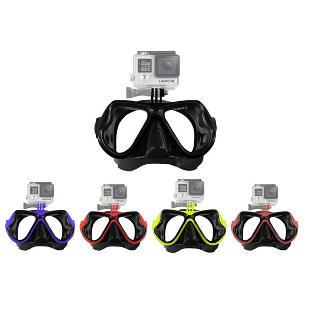 Wholesale Sport Camera Gopros diving mask Swimming waterproof mask for Gopros