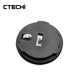 CTECHi 3V 210mAh CR2032 lithium button cell coin battery