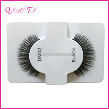 High quality custom made human hair red cherry eyelashes wholesale