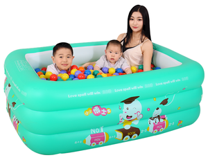Factory wholesale top quality small family play pool, inflatable swimming pool