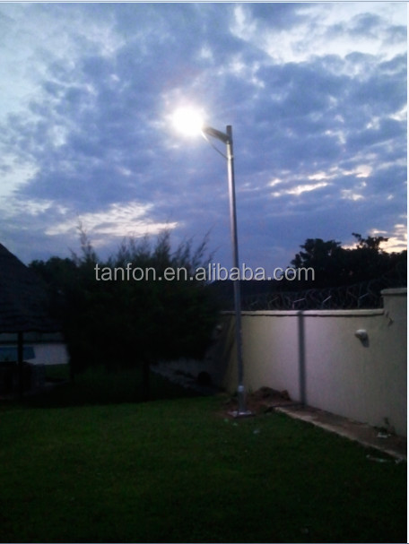 Tanfon high efficiency new style intelligentized integrated solar cell street light