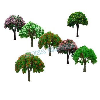 N HO scale 3cm building model tree for Real Estate Sales