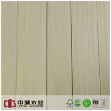 Natural face veneer koto quarter veneer for panel plywood mdf board skateboard core veneer