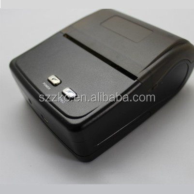 80mm bluetooth receipt printer support android cellphone and tablet,portable Kiosk bluetooth printer