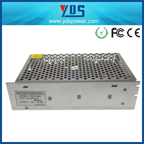 AC to DC Single Output SMPS pc power supply 12V16.7A 200W (YDS12-200)