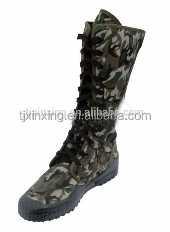 camouflage Long-wearing hunter military shoes boots man