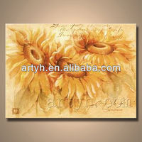 Popular Handmade Sunflower Oil Painting