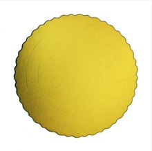 Round Cake Board Embossing Shiny Cake Base Boards
