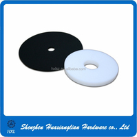 Factory supply OEM white and black flat teflon washer
