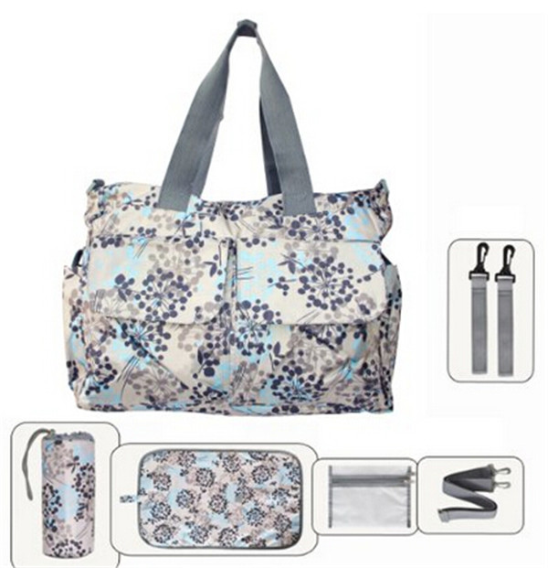 hotsale fashion adult baby diaper bag tote bag for mother