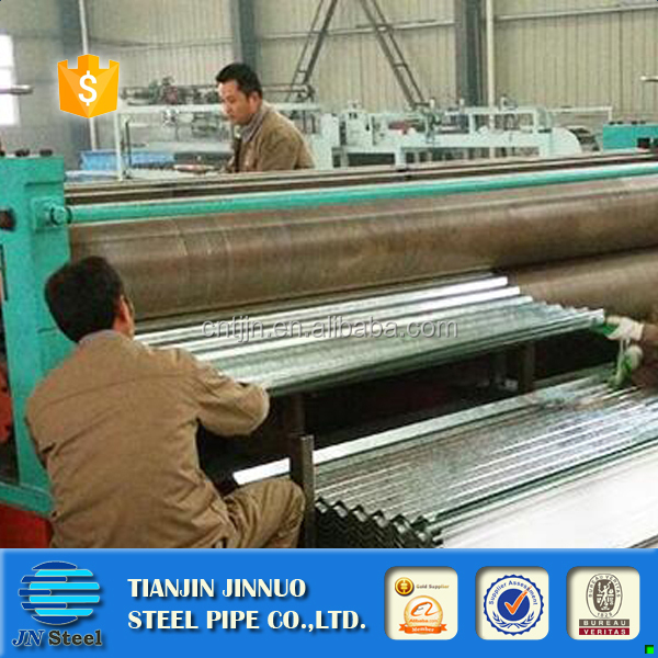 Color Coated Corrugated Roofing Sheet / PPGI corrugated roofing sheets /Color Coated Metal Roof