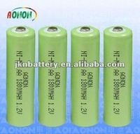 1.2V 600mah recharge size AAA ni mh battery