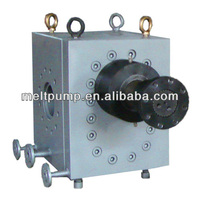high pressure and temperature melt gear pump for plastics extrusion