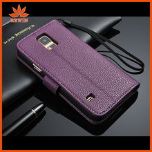 PU protective leather flip case cover for htc one s
