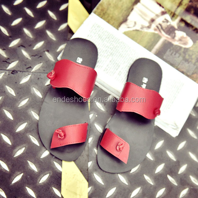 latest fashion ladies shoes women pu slippers 2016 girls fashionable sandals