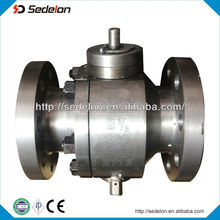 Top Quality Gear Operated Type Ball Valve,2014 New Type Ball Valve