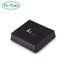 YOUYUAN KII PRO S2 T2 Amlogic S905 2GB 16GB Android 5.1 TV BOX Quad-core 2.4G/5G WIFI BT4.0 4K Satellite Receiver KIII PRO