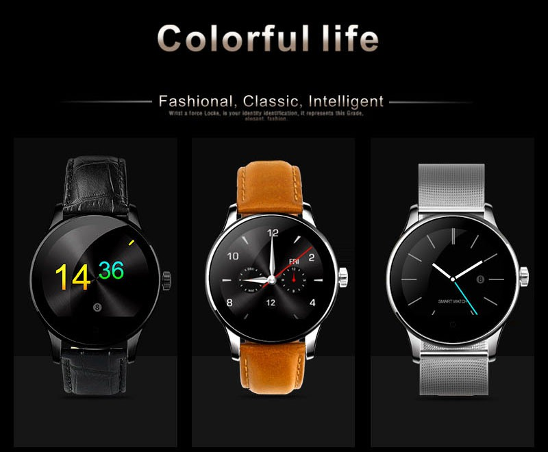 K88h Smart watch phone with statical and dynamical heart rate monitor Hight-Quality watch phone