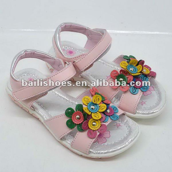 2013 New Hot Sale Style Kids Sandle Shoes for Girls