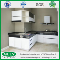 Most Popular Kitchen Cabinets PVC Foam Board Solid PVC Board