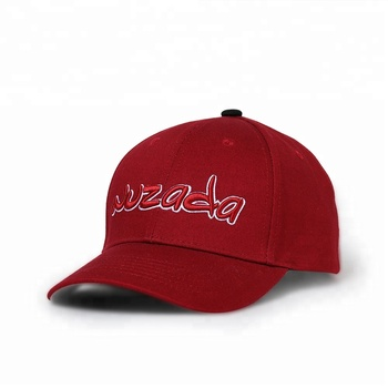 KaPin Red NUZADA Snapback Men Women Cotton Cap Classic Letter 3D Embroidery Cheap Baseball Caps