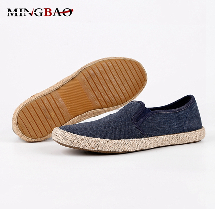 Guangzhou custom top quality hemp mens sneakers wholesale india Casual shoes for men