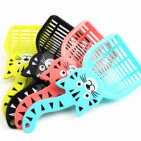 Durable Plastic Pet Dog Litter Waste Scooper Scoop Cat Sand Shovel