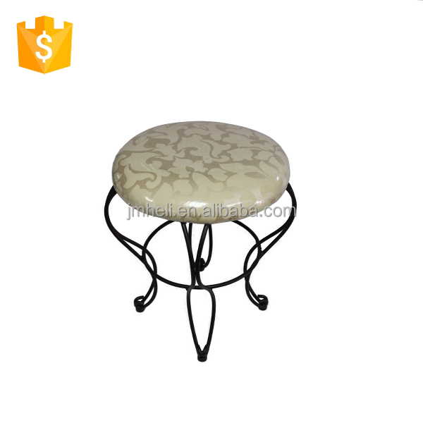dressing room vanity wire stool