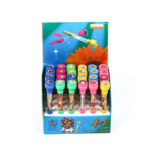 Children Bubble Ballpoint Pen with Roller Rubber Stamp for Student