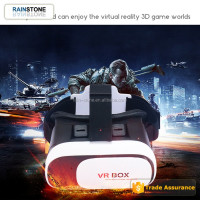2017 hot virtual reality 3D glasses 2nd generation headset VR BOX 2 virtual reality glasses