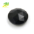 Black and shiny wholesale price natural rose cut black Agate