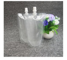 BPA free good quality stand up spout red wine packaging bags