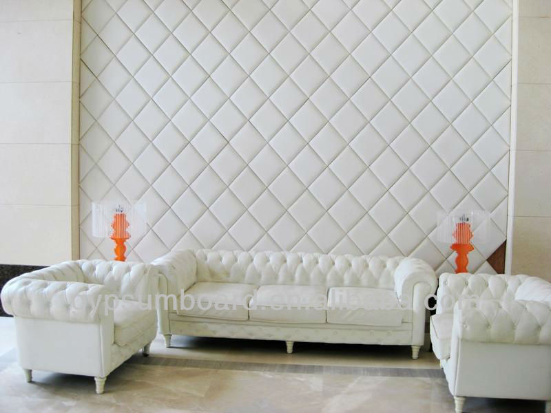 Fiberglass Acoustic Decorative Interior Wall Panel Design Partition
