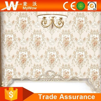 [A36-36882] Wholesale Factory Embroidery Islamic Wallpaper for Nightclub