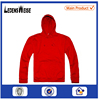 Red color fashion & new look OEM no drawstring hoodie sweatshirt