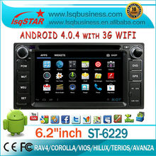 For dealer! touch screen car radio gps for Toyota Avanza with GPS,Radio,BT,DTV,APP,3G,WIFI. Hot!