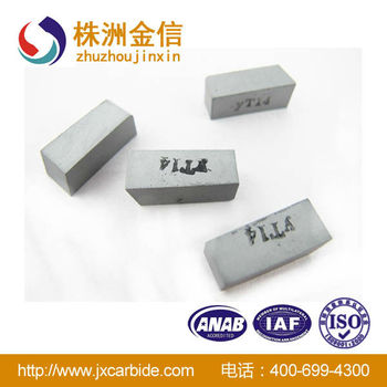C16 K20 P30carbide inserts/Brazed tips of cemented carbide with top quality