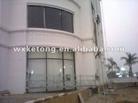 Yellow High Working Suspended Platform Cradle Scaffold Systems for Building Cleaning